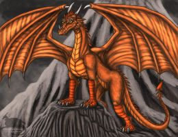 Smaug The Golden by Ravenfire5