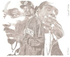 Snoop Dogg by eazy101
