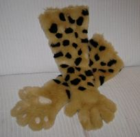 Commish - Cheetah Paws by NecoStudios