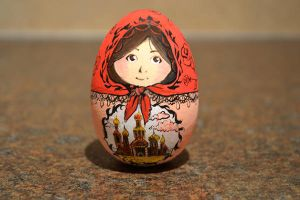 Matryoshka the Wooden Egg by DoodleDuo