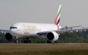 Boeing 777 Emirates Sky Cargo by shelbs2