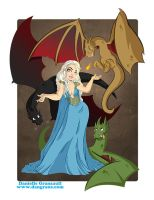 Mother of Dragons by dsoloud