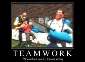 Teamwork - TF2 by OldNile