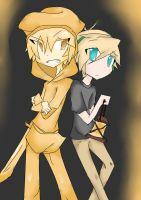 Pewds and Stephano by Sianna-Miku