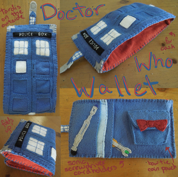 Tardis Wallet by RoochArffer