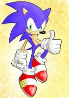 Sonic colored by LeniProduction