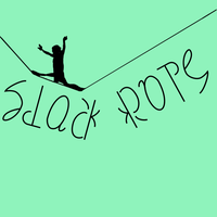 Circus Ambigrams 15: Slackrope by Henry-Crun