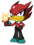 Powered Up: Felix The Vulture by TheHowlingStorm