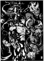 Spiderman and friends 2011 by barfast