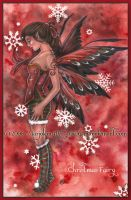 Christmas Fairy by MarjoleinART