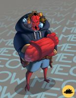 Hellboy by ThePatoNegro