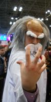 NYCC 2012- Dr. Wily Cosplay by Guardian-of-Legends