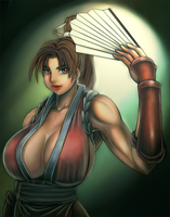 Mai Shiranui by BlackExcell