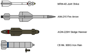 KHI Fighter Weapons by IgorKutuzov
