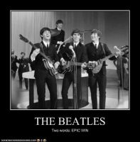 The Beatles.... by lunarwolf95