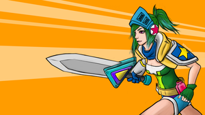 Arcade Riven Wallpaper by MERRYcoffee