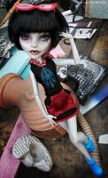 Ghoulia Yelps OOAK Monster High 2\4 by PixieLify