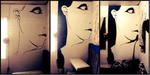 Wall Painting by Scyrielle
