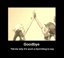 Goodbye Dawn Poster by InvaderPumpkinQueen