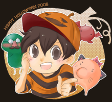 Happy Halloween08 +MOTHER2+ by Wasil