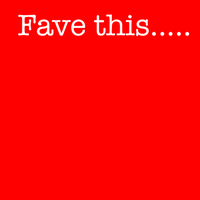 fave this... by deeohtee