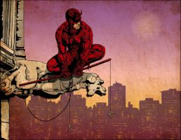 The Daredevil by sergefoglio