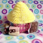 Animal Crossing Amigurumi Sweets House by MadameWario