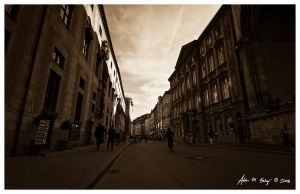 Munich Street by amhaley