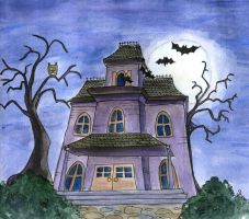 haunted house by MsVillainess