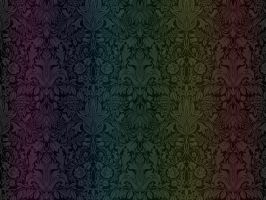 RAINBOW floral wallpaper by graymaster