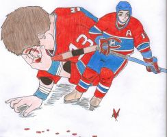 Mike Cammalleri by BlueRemembrance