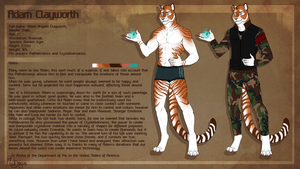 Adam Clayworth- Ref commission by the-MadDog