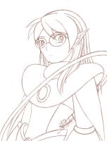 RMN - Saturn Leader Sketch 02 by yukito-chan
