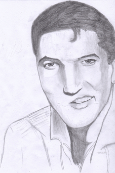 Elvis Presley by ThatTMNTchick
