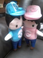 Pook a Looz style Pokemon Trainers plush by Vulpes-Canis