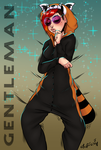 Tanookie Gentleman by Styl-Fly