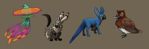 Mixed-up Animals by Vineris