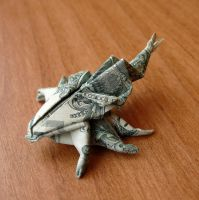Dollar Bill Horned Beetle by craigfoldsfives