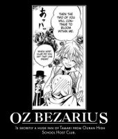 Pandora Hearts Motivational poster Oz by thegirlsgeneration89