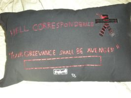Hell Girl Pillow by Seras-Loves-Master