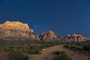 A Night on First Creek Trail by aloehnert