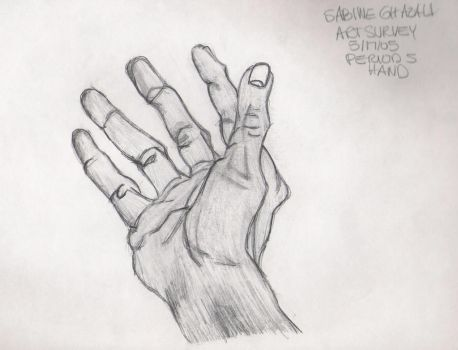 Hand by xSABINEx