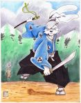 Usagi Yojimbo Duel by SurfTiki