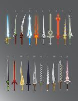 100 Swords: 1-20 by LucienVox