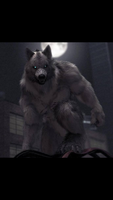 Dusty crophopper as a werewolf by Dustycrophopper