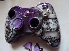 xbox360 custom airbrush shell by DepyArt
