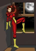 Spider-Woman by thequestionmark