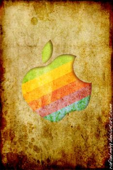 old school apple by rafaelmh9