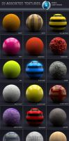Cinema4D Texture Pack by mixmedia87