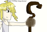 Happy birthday Mage-Kaxin! by Kdfsmk20011